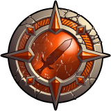 Hero Wars Physical Attack Glyph